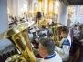 Somu jēgeriem - 100, dievkalpojums Liepājas Sv.Trīsvienības katedrālē 13.02.2018. Foto: A.Prūsis